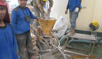 Installtion Refractoy Castable By Gunning System
