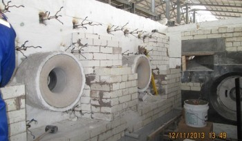 Installation Casting Castable