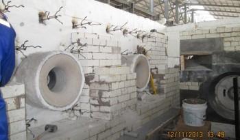 Installation Casting Castable