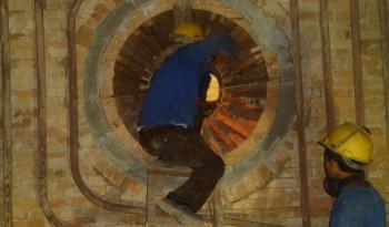 Installation Refractory Brick D